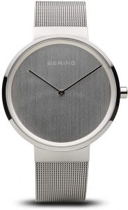 BERING Time Unisex Slim Classic Collection Stainless Steel Minimalistic Watch