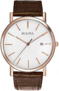 Bulova Men's 98H51 Stainless Steel Dress Watch