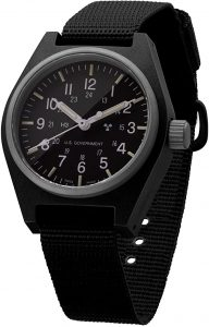 Marathon Quartz Swiss Made Military Field Army Watch