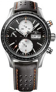 Ball Gents-Watch Fireman Storm Chaser Pro Chronograph Day-Date Automatic