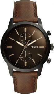 Fossil Men Townsman Leather Casual Watch