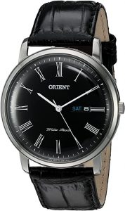 Orient Men's 'Capital Version 2' Leather Dress Watch