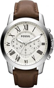 Fossil Men's Stainless Steel Chronograph Watch