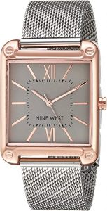 Nine West Mesh Bracelet Watch