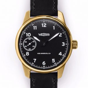 WEISS 42MM EXECUTIVE ISSUE FIELD WATCH