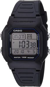 Casio Men's Classic Sport Watch with Black Band