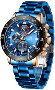 Megalith Men's Chronograph Watch